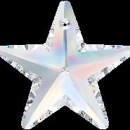 Swarovski Pendant 6714 - 28mm, Crystal Aurore Boreale (001 AB), 1pcs