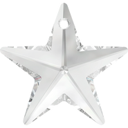 Swar Crystal Pendant 6714 - 40mm, Crystal (001), 1pcs