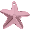 Swar Pendant 6721 - 16mm, Crystal Antique Pink (001 ANTP), 2pcs