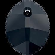 Swarovski Pendant 6734 - 23mm, Jet (280), 1pcs