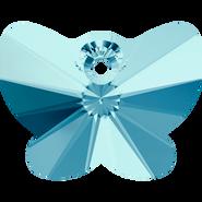 Swarovski Pendant 6754 - 18mm, Aquamarine (202), 1pcs