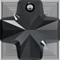 Swarovski Pendant 6866 - 20mm, Jet (280), 1pcs