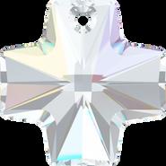 Swarovski Pendant 6866 - 20mm, Crystal Aurore Boreale (001 AB), 1pcs