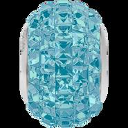 Swarovski Becharmed 180201# 14m Aquamarine, (1pcs)