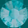 Swarovski Hotfix 2038 - ss10, Blue Zircon Satin (229 SAT Advanced), Hotfix, 1440pcs