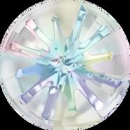 Swarovski Round Stone 1695 - 10mm, Crystal Aurore Boreale (001 AB) Foiled, 72pcs