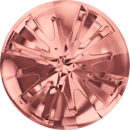 Swarovski Round Stone 1695 - 10mm, Blush Rose (257) Foiled, 72pcs