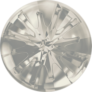 Swarovski Round Stone 1695 - 14mm, Crystal Silver Shade (001 SSHA) Foiled, 36pcs