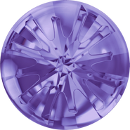 Swarovski Round Stone 1695 - 14mm, Tanzanite (539) Foiled, 36pcs