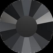 Swarovski Flatback 2034 - ss10, Jet (280) Foiled, No Hotfix, 1440pcs