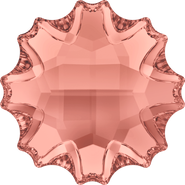 Swarovski Flatback 2612 - 10mm, Blush Rose (257) Foiled, No Hotfix, 48pcs