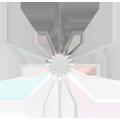 Swarovski Flatback 2816 - 5mm, Crystal Aurore Boreale (001 AB), 720pcs