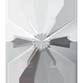 Swarovski Flatback 2826 - 5mm, Crystal (001), 720pcs