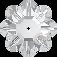 Swarovski Sew-on 3700 - 12mm, Crystal (001) Foiled, 144pcs