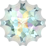 Swarovski Fancy Stone 4195 - 14mm, Crystal Aurore Boreale (001 AB) Foiled, 24pcs