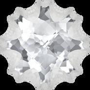 Swarovski Fancy Stone 4195 - 14mm, Crystal (001) Foiled, 24pcs