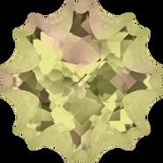Swarovski Fancy Stone 4195 - 14mm, Crystal Luminous Green (001 LUMG) Foiled, 24pcs