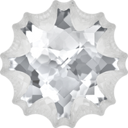 Swarovski Fancy Stone 4195 - 18mm, Crystal (001) Foiled, 15pcs