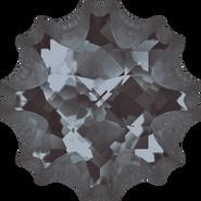 Swarovski Fancy Stone 4195 - 18mm, Crystal Silver Night (001 SINI) Unfoiled, 15pcs