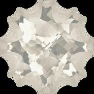 Swarovski Fancy Stone 4195 - 18mm, Crystal Silver Shade (001 SSHA) Foiled, 15pcs