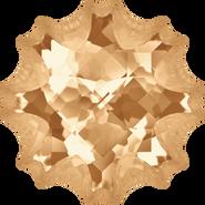 Swarovski Fancy Stone 4195 - 22mm, Crystal Golden Shadow (001 GSHA) Foiled, 6pcs