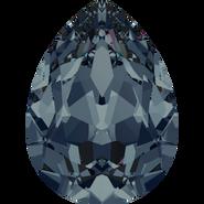 Swarovski Fancy Stone 4320 - 18x13mm, Graphite (253) Foiled, 48pcs