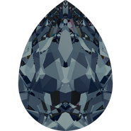 Swarovski Fancy Stone 4320 - 6x4mm, Graphite (253) Foiled, 360pcs