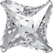 Swarovski Fancy Stone 4485 - 6mm, Crystal (001) Foiled, 144pcs