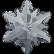 Swarovski Fancy Stone 4753 - 14mm, Crystal Silver Night (001 SINI) Unfoiled, 36pcs