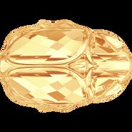 Swarovski Bead 5728 - 12mm, Crystal Metallic Sunshine (001 METSH), 96pcs