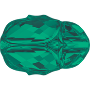 Swarovski Bead 5728 - 12mm, Emerald (205), 96pcs