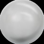 Swarovski Crystal Pearl 5811 - 12mm, Crystal Light Grey Pearl (001 616), 100pcs