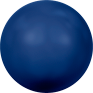 Swarovski Crystal Pearl 5811 - 14mm, Crystal Dark Lapis Pearl (001 719), 50pcs