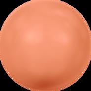 Swarovski Crystal Pearl 5811 - 14mm, Crystal Coral Pearl (001 816), 50pcs