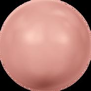 Swarovski Crystal Pearl 5811 - 16mm, Crystal Rose Peach Pearl (001 674), 25pcs