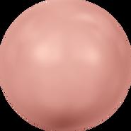 Swarovski Crystal Pearl 5817 - 16mm, Crystal Rose Peach Pearl (001 674), 100pcs