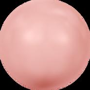 Swarovski Crystal Pearl 5817 - 16mm, Crystal Pink Coral Pearl (001 716), 100pcs