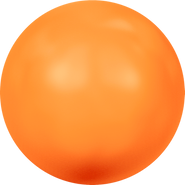 Swarovski Crystal Pearl 5817 - 16mm, Crystal Neon Orange Pearl (001 733), 100pcs