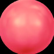 Swarovski Crystal Pearl 5817 - 16mm, Crystal Neon Red Pearl (001 770), 100pcs