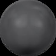 Swarovski Crystal Pearl 5818 - 10mm, Crystal Black Pearl (001 298), 100pcs