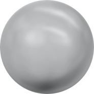 Swarovski Crystal Pearl 5818 - 10mm, Crystal Grey Pearl (001 731), 100pcs