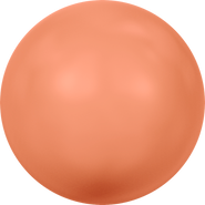 Swarovski Crystal Pearl 5818 - 10mm, Crystal Coral Pearl (001 816), 100pcs
