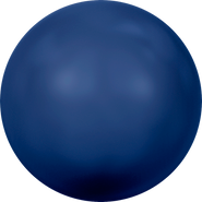 Swarovski Crystal Pearl 5818 - 12mm, Crystal Dark Lapis Pearl (001 719), 100pcs