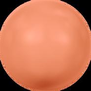 Swarovski Crystal Pearl 5818 - 12mm, Crystal Coral Pearl (001 816), 100pcs