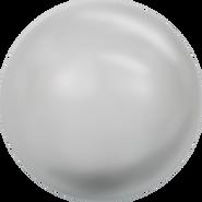 Swarovski Crystal Pearl 5818 - 8mm, Crystal Light Grey Pearl (001 616), 250pcs