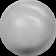 Swarovski Crystal Pearl 5818 - 8mm, Crystal Grey Pearl (001 731), 250pcs