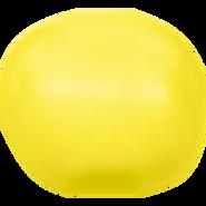 Swarovski Crystal Pearl 5840 - 14mm, Crystal Neon Yellow Pearl (001 734), 50pcs