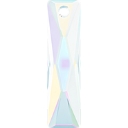 Swarovski Pendant 6465 - 38x10mm, Crystal Aurore Boreale (001 AB), 24pcs