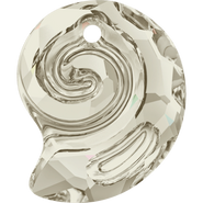Swarovski Pendant 6731 - 14mm, Crystal Silver Shade (001 SSHA), 36pcs