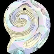 Swarovski Pendant 6731 - 28mm, Crystal Aurore Boreale (001 AB), 8pcs